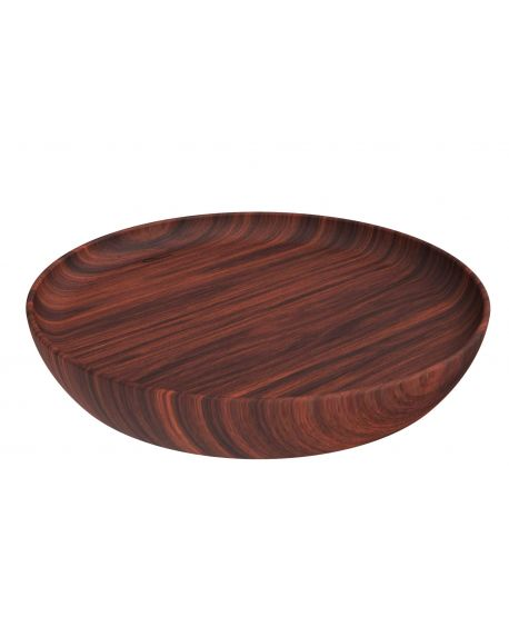 Marta Tray in mahogany wood